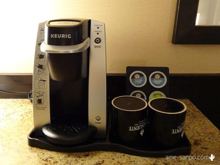アグアカリエンテ KEURIGのカプセル式コーヒーメーカー
