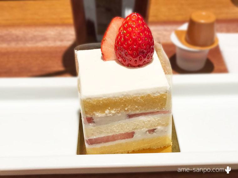 「ザ・ターミナルカフェ aspera」ショートケーキセット