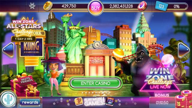 【 POP! Slots 】開始から9ヶ月、ようやく New York New York でプレイ可能になりました