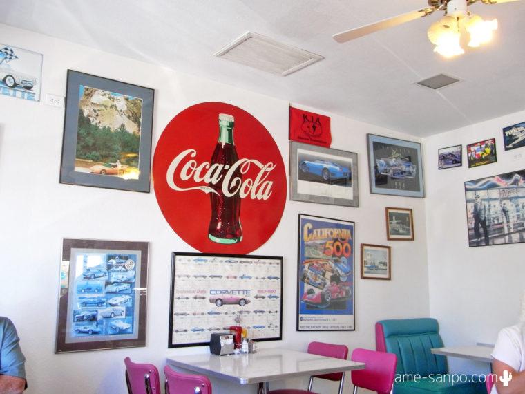 Mr. D'z Route 66 Diner 店内