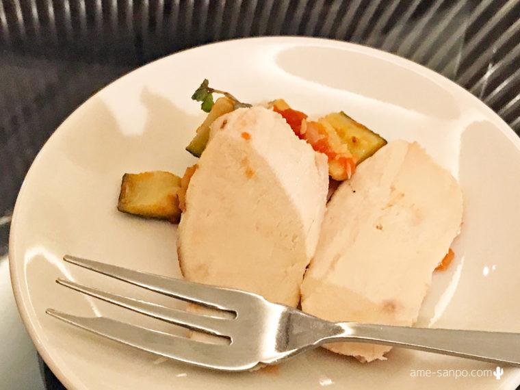 鶏ハムとラタトゥイユ